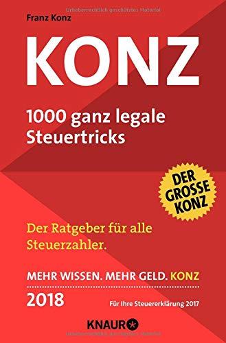 Konz: 1000 ganz legale Steuertricks